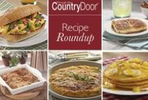 Brunch Recipes by Country Door / Start a weekend tradition by serving a delicious Sunday brunch. Here are some recipes that just may inspire your inner chef.