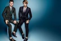 Men's Designer Suits / Men's designer suits from top luxury labels including Tom Ford, Giorgio Armani and Ermenegildo Zegna. / by Fashionisto