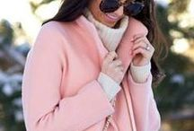 The Trend Is PINK! / The current trend of PINK in the fashion world. / by Lisa Bishop