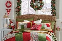 Transition Fall to Holiday Home Decor / Once you've welcomed fall, it's surprisingly fast how quickly the holidays will sneak up on you. Think ahead and plan now for how you can easily make the shift from harvest to holiday.