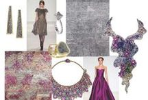 Trend Board Inspiration / Color trends, faux fur and hair on hide inspired by home decor, fashion and beauty. www.nourison.com