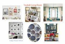 Toubali Living Room/Window treatments