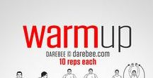 THE WARM UP / Parts of the warm up and exercises