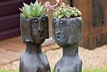 Face Pots / Pot Heads / by Connie Ruben