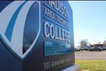 Regional Madison College Campuses / Madison College encompasses the entire Greater Madison area with the convenience of eight unique campuses. Madison-Truax, Madison-Downtown, Madison-South, Madison-West, Fort Atkinson, Portage, Reedsburg and Watertown. / by Madison College