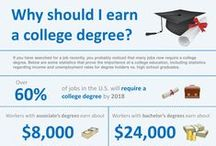 Infographics / Interesting infographics about college / by Madison College