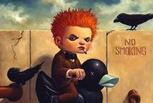 ART:  Spooky - Scary - Strange / Strange Art / by Junell Toney