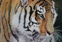Watercolor:  Animals 3 / Watercolor Animals / by Junell Toney
