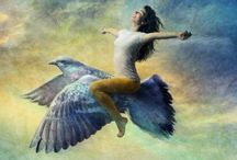 ART:  Fly - Float / Art of Flying / by Junell Toney
