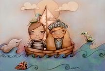 ART:  Nautical 3 / Nautical Art / by Junell Toney