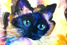 Watercolor:  Animals 4 / Watercolor Animals / by Junell Toney