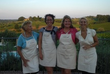 2013 Cooking Classes in Tuscany / Our job, our passion and...above all our friends we'll never forget!