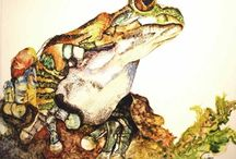 Watercolor:  Animals 11 / Watercolor Animals / by Junell Toney