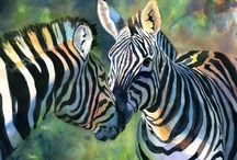 Watercolor:  Animals 17 / Watercolor animal paintings / by Junell Toney