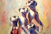 Watercolor:  Animals 21 / by Junell Toney