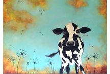 Cow obsession / by Adrienne Spiller