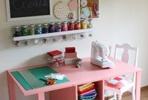 Craft room organizing/decorating / Craft room organizing and decorating / by BeingBrook