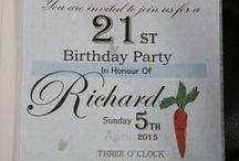 21st Easter birthday