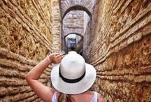 Hats & Travel Selfies / Wearing hats in exotic locations! All the inspiration (+ tips!) you need for taking creative and fun travel self portraits. / by Liz Carlson