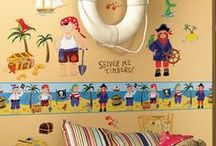 Pirate Themed Gifts & Accessories / Ahoy there! Climb on board and join the adventure! Take a look at our pirate themed accessories. From bags to bedroom accessories, we have the perfect collection to satisfy your little sailors adventurous taste.