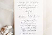 Wedding Stationery  / Wedding invitations, stationery, paper details and all things wedding paper!