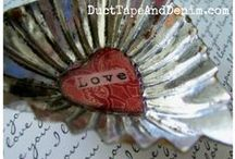 Holidays | Valentine's Day / Valentine's Day decorations, cards, and gifts. / by Ann @ Duct Tape and Denim