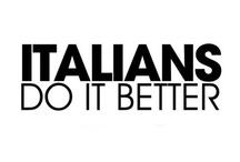 ITALIAN!! LIKE ME!