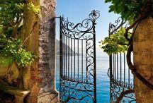 ORNATE GATES & IRONWORK