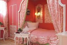 GIRLY GIRL BEDROOMS & SUCH