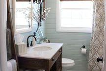 Brown Bathroom Deco Ideas
