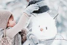 Winter - talvi... / Menettelee takkatulen ja villahuovan lämmössä...
