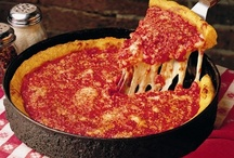 GOOD GRUB 4 my pie hole ~ PIZZA / I am Italian so automatically it is in my DNA to crave pizza! While living in Chicago, my favorite thin crust was Papa Milano's (now closed) and Pizzeria Uno's for deep dish! While living in CA, I was introduced to Lou Malnati's deep dish while visiting Chicago on a business trip ... LM's is now my all time favorite. I would eat it every day if I could. Now I have to have it shipped to me in OK.