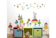 Collection Série-Golo / Stickers et papiers peints pour enfants / Wall stickers and wall paper for child / by Acte-Deco