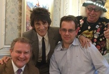 #twotwitsandateacup / On Monday 26th February 2013, Merlin patron Hugh Bonneville (@hughbon) and Rolling Stone Ronnie Wood (@ronalddavidwood), had afternoon tea with Ulrich and Volker at The Savoy. They bid the most in an ebay auction, benefiting Merlin - raising a fantastic £1,093!