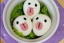 Art: Bento / Some cute/beautiful/awesome bentoboxes. / by Ecchimaru