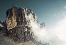 alps, mountains, high in the sky