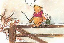 Winnie the Pooh - Nalle Puh / Nalle Puhin viisauksia ja ikivihreitä lauseita...