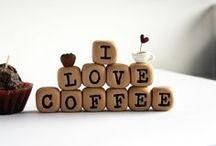 Coffee - kahvia kiitos :-) / Kuulun ihmisiin, jotka tarvitsevat monta kupillista kahvia aamulla ennenkuin heräävät uuteen päivään...