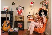 Collection Vintage / MamZelle Térébenthine vous présente sa première collection de stickers en exclusivité pour Acte-Déco !  Miss Térébenthine presents her first stickers range, exclusively for Acte-Déco! / by Acte-Deco