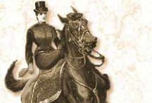 Sidesaddle Revival / The art and revival of sidesaddle horseback riding, tack, costumes, showmanship, retreats, etc.