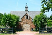 Barn-Raising / Horse barn dream designs.