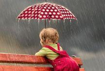 Rainy days - pidän sadepäivistä....