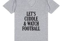 Love | Football / I love football!  Ideas to decorate for football watching parties, food, tailgating, clothes, and jewelry. / by Ann @ Duct Tape and Denim