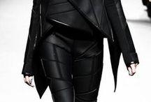 dark, futuristic, post-apocalyptic, future styled fashion