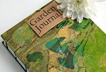 Garden: Journals / Keep track of your plants by creating your own personalised garden art journal