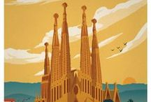 Vintage Travel Posters / I have a board about art and I also have one about advertising, but these travel posters fit between the two.  I love the range of styles and nostalgia of these posters. / by Contagious Advertising