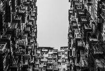 estranged cities & abandoned places / remaining dead urban or reconquered spaces