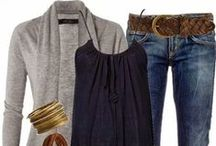 Fall Fashion 2017 / Getting ready for the cooler days of fall.  I need ideas for wearing to the coffee shop while I drink my pumpkin latte, date night, traveling to see family, flea mart shopping, and - oh, yeah - work!  I'm looking for -- tunics, jackets, jeans, pants, coats, scarves, vests, and boots for women over 40.  And what do you think about ponchos?  I can't decide... sounds like a good idea 'cause I get cold.