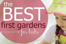 Gardening for Kids / Involve your child into gardening. A little dirt is no match for the lessons kids learn when they grow their own plants.