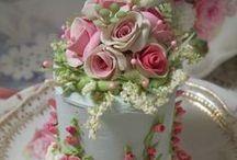 Cake-yummy and pretty